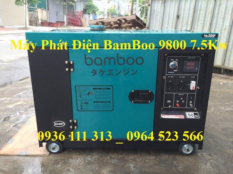 Máy Phát Điện Chạy Dầu BamBoo 9800 7Kw