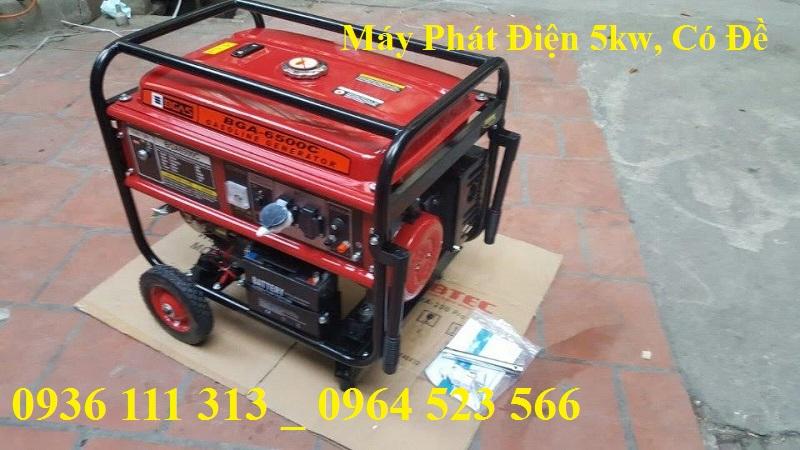 Máy Phát Điện 5kw BGAS 6500