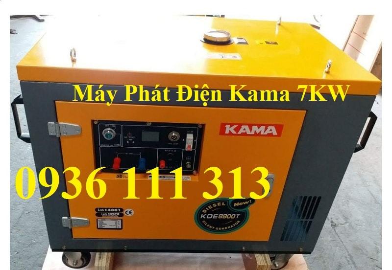 Máy Phát Điện Chạy Dầu Kama 7kw