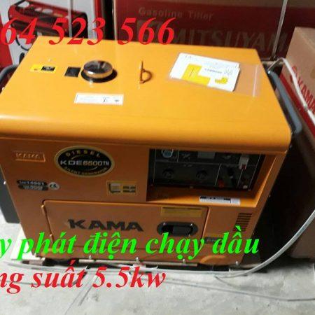 Máy Phát Điện Chạy Dầu Kama 5kw