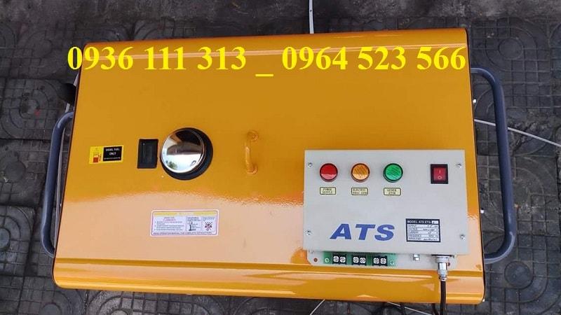 Máy Phát Điện Chạy Dầu Kama Và Tủ ATS
