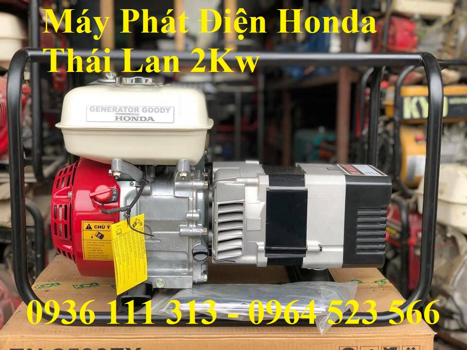Máy Phát Điện Honda EN2500FX 2Kw Thái Lan