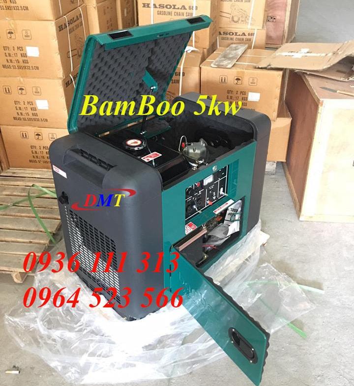 Máy Phát Điện BamBoo Chạy Dầu 5kw
