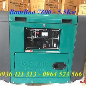 Máy Phát Điện Chạy Dầu BamBoo 5kw