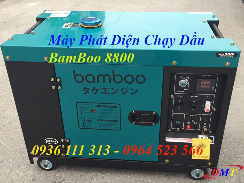 Máy Phát Điện Chạy Dầu BamBoo 8800 6kw