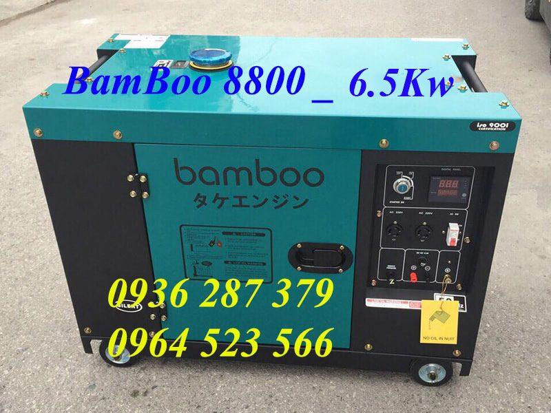 Máy Phát Điện BamBoo 8800 Chạy Dầu 6kw