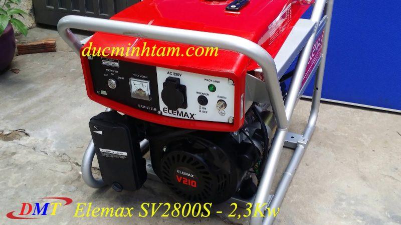 Máy Phát Điện Elemax SV2800S, 2,2Kw, Nhật Bản