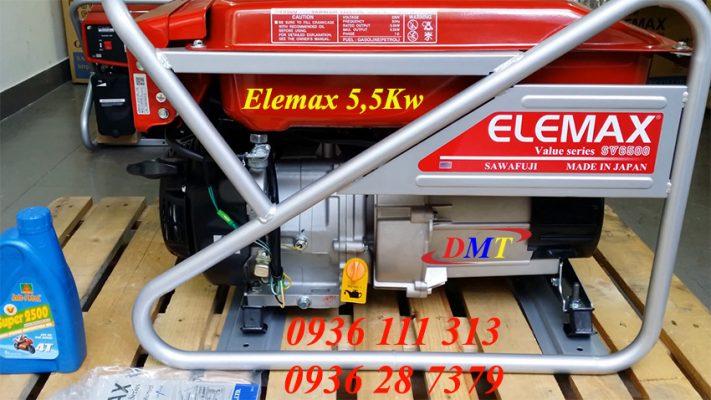 Elemax SV6500 - Máy Phát Điện Chạy Xăng 5kw Nhật Bản