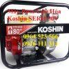 Máy Bơm Cứu Hỏa Koshin SERH 50V Nhật Bản