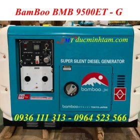 Máy Phát Điện BamBoo BMB 9500ET 7,5Kw Siêu Chống Ồn