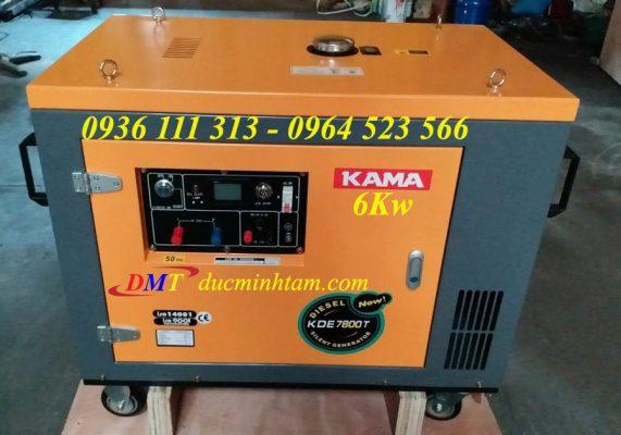 kama máy phát điện chạy dầu