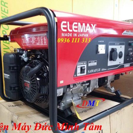 Máy Phát Điện Elemax SH7600EX 6.5Kw Nhật Bản