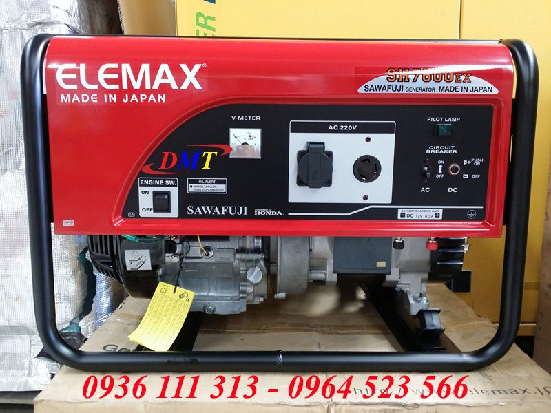 Máy Phát Điện Elemax SH7600EX 6,5Kw Nhật Bản