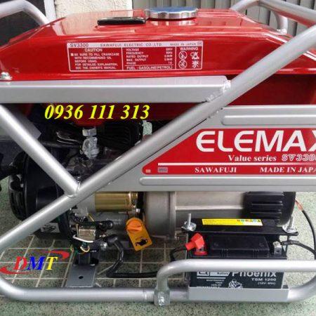 Máy Phát Điện Elemax SV3300S 2,9Kw Nhật Bản