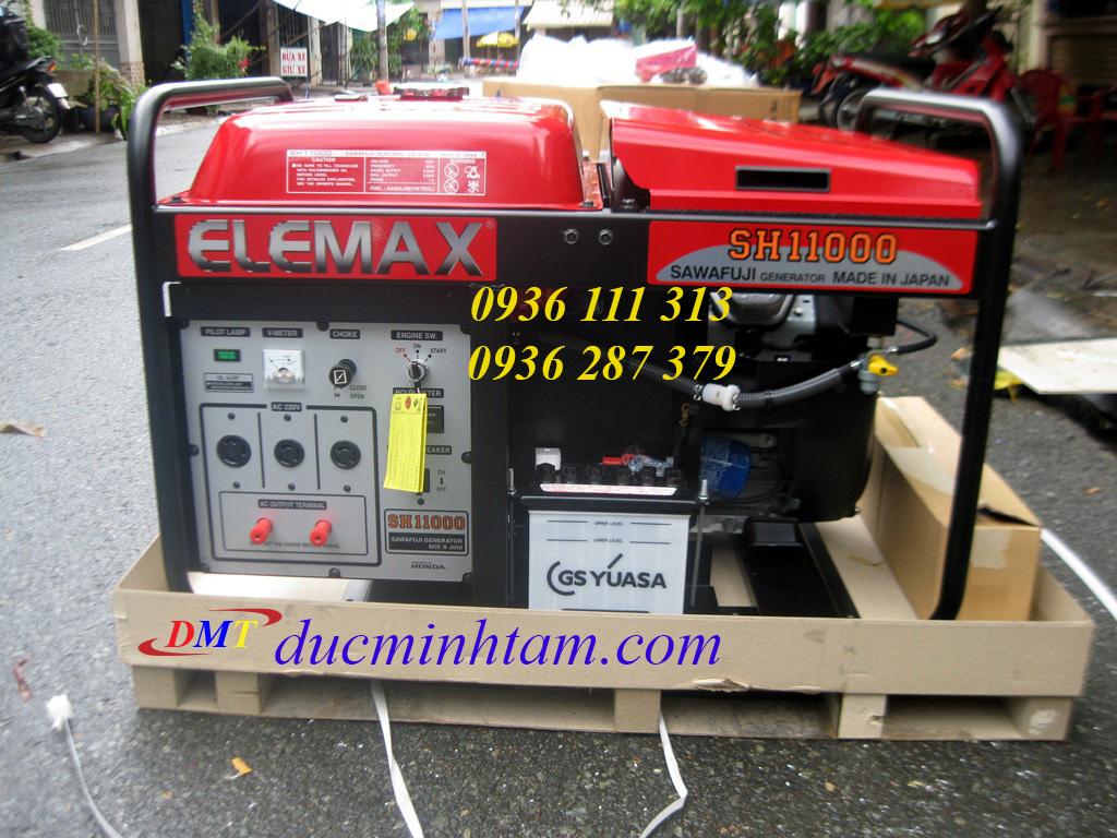Máy Phát Điện Elemax SH11000 Nhật Bản 10Kva