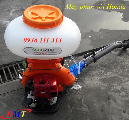 Máy Phun Vôi Bột Honda GX35 Thái Lan