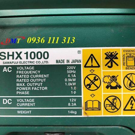 Máy Phát Điện Elemax SHX 1000 - Honda 1kw