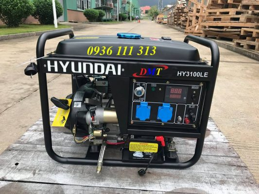 Máy Phát Điện Hyundai HY3100LE ( Có đề) 2,5Kw