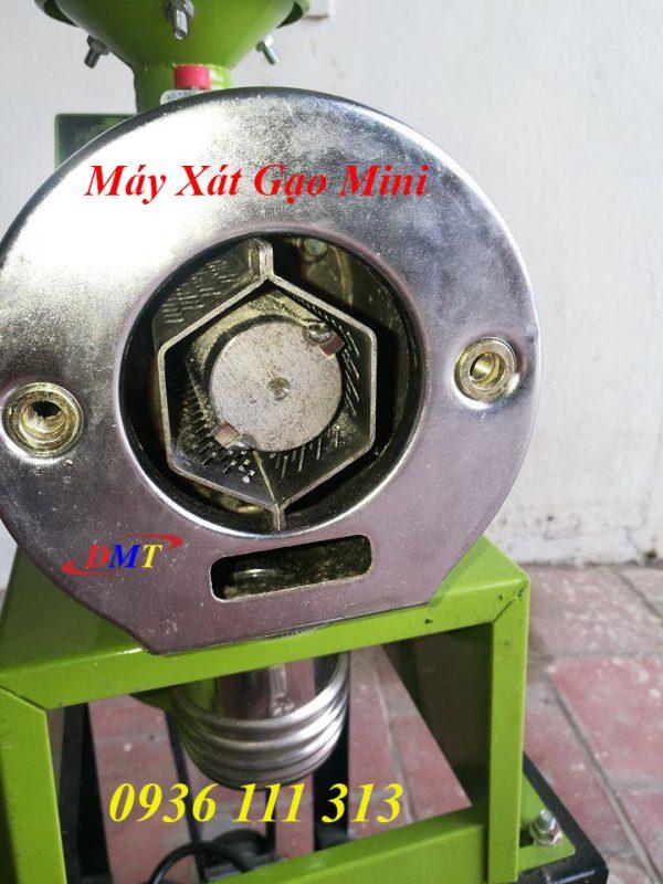 Máy Xát Gạo Mini - Sàng Inox