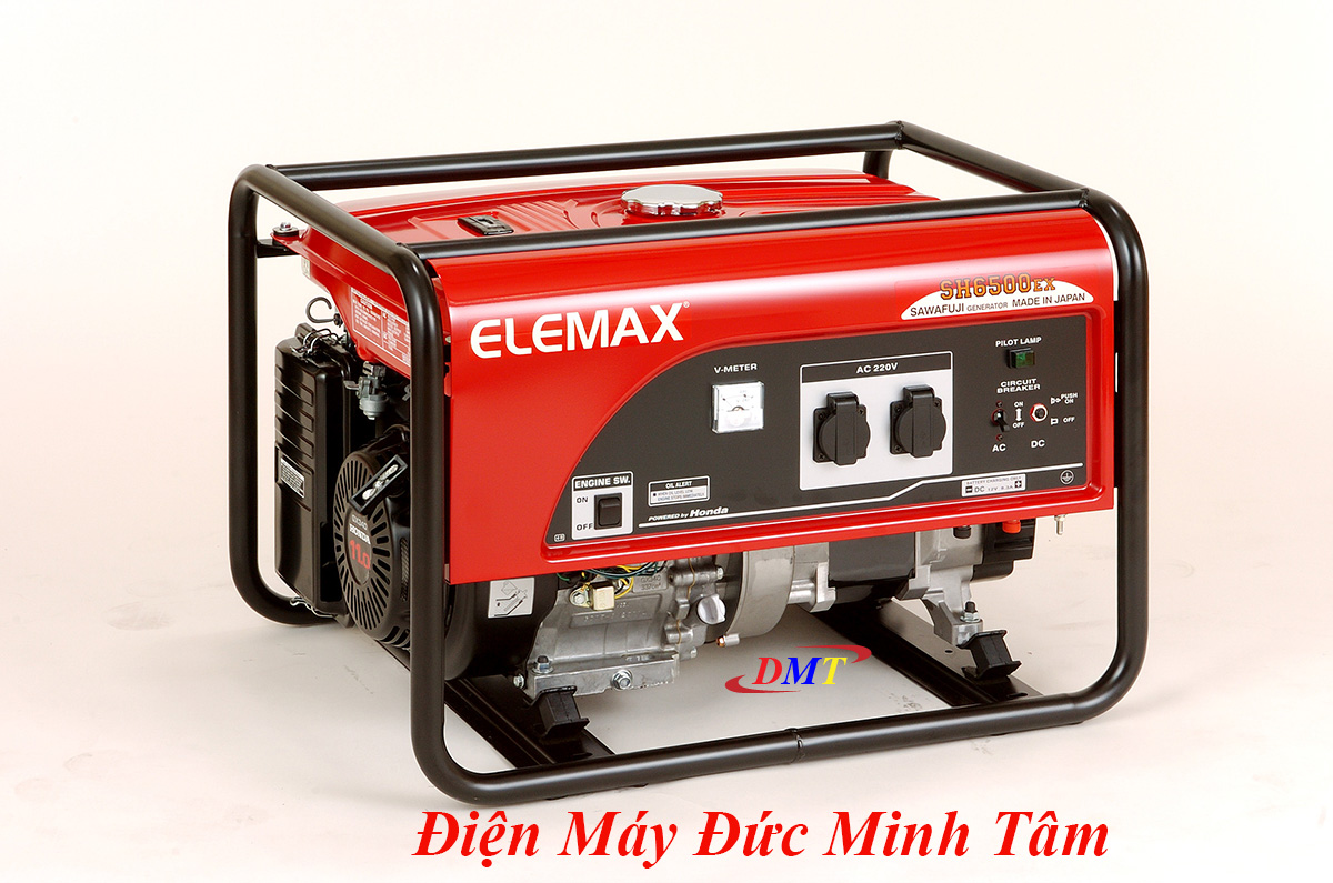 Máy Phát Điện Elemax SH6500EX 5Kw Nhật Bản