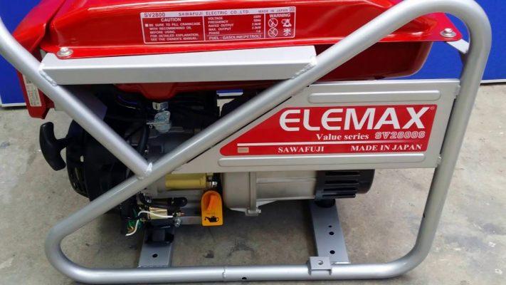 Máy Phát Điện Elemax SV2800S _ 2Kw có đề _ Nhật Bản
