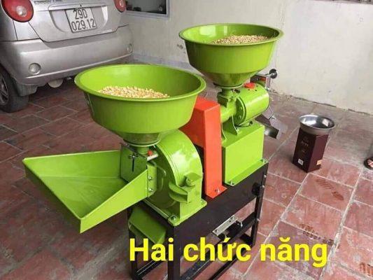 Máy Chà gạo Mini hai chức năng