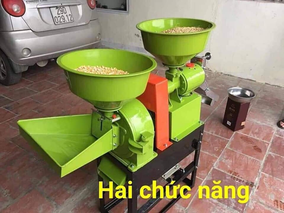 máy xay xát lúa gạo