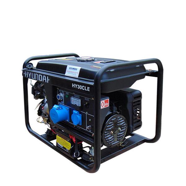 Máy phát điện chạy xăng Hyundai HY30CLE 2,3 - 2,6Kw