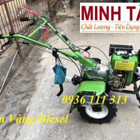 Máy Xới Đất Mini Chạy Dầu Trâu Vàng