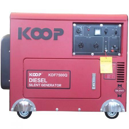 Máy Phát Điện 5Kw Chạy Dầu KDF7500Q