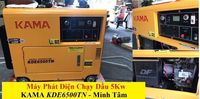 Máy Phát Điện KAMA 5Kw Chính Hãng KDE6500TN