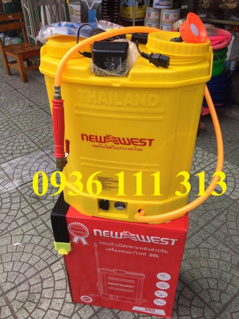 Bình Phun Thuốc Chạy Điện NewWest Thái Lan 9AH