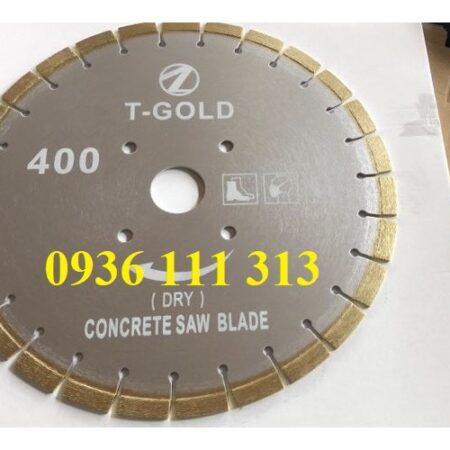 Lưỡi Cắt bê Tông 300mm, 400mm, T-Gold
