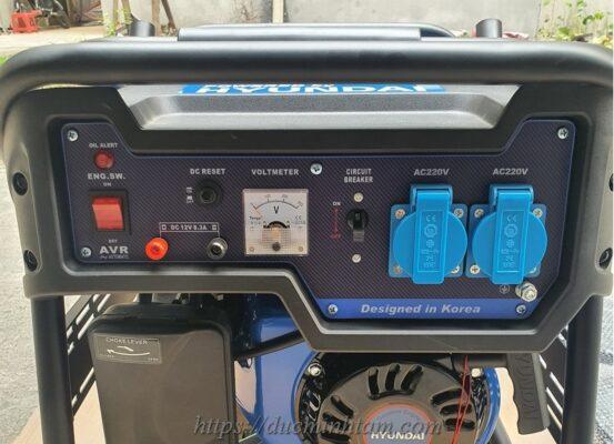 Hệ thống mạch điện của máy phát điện chạy xăng 7kW GENESIS GD 8500W