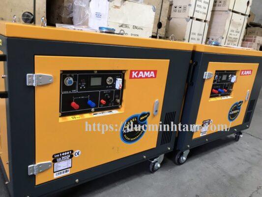 Máy phát điện chạy dầu 6kW KAMA KDE7800T