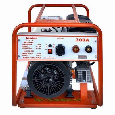 Máy hàn chạy xăng cao cấp Bamboo BMB 300A