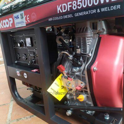 Máy phát điện cho máy hàn Diesel KDF8500WE