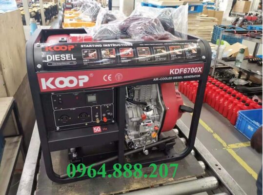 Máy phát điện chạy dầu 5kW KOOP KDE6700X