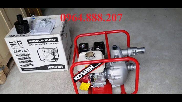 Máy bơm nước cứu hỏa cap áp KOSHIN SERH-50V