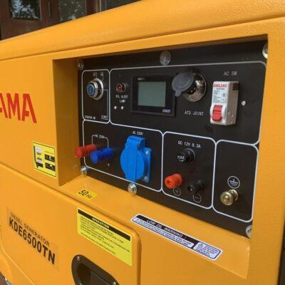 Máy phát điện diesel 5kW KAMA KDE6500TN