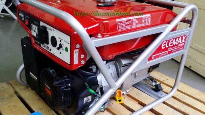 Máy phát điện Nhật Bản 5kw chạy xăng Elemax SV6500