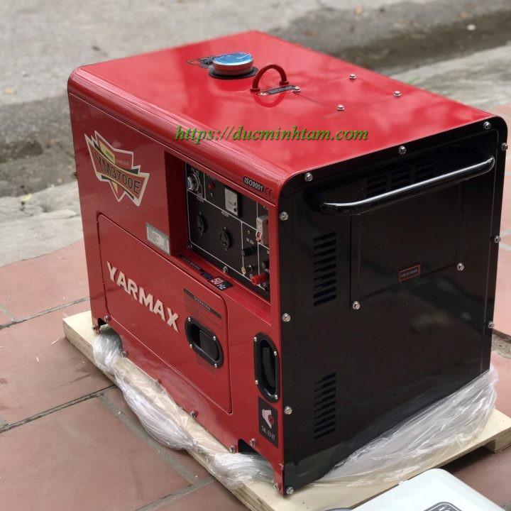 Máy phát điện chạy dầu 3kw có vỏ chống ồn Yarmax YM3700E
