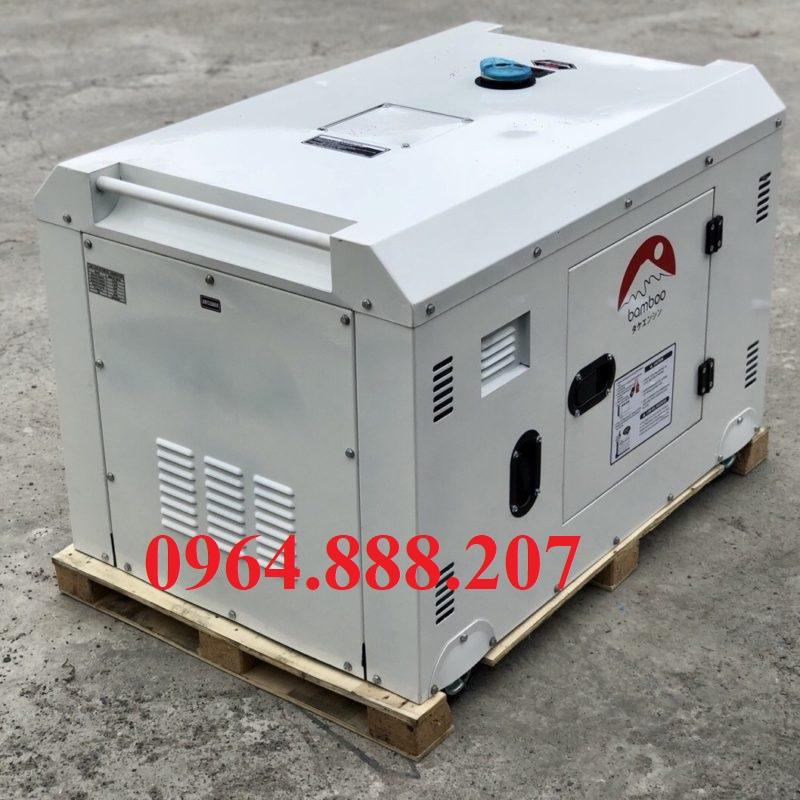 Máy phát điện diesel 10kW có chống ồn BAMBOO GS