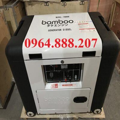 Máy phát điện siêu chống ồn 5.5kW BAMBOO 7800E